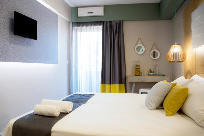 Sunshine Malia Hotel Budget Double Room