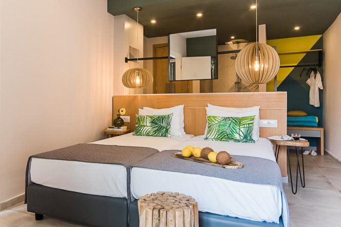 Sunshine Malia Hotel Standard Double